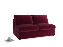 Chatnap Sofa Bed in Merlot Plush Velvet