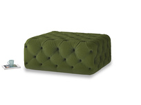 Oops-a-Lazy in Good green Clever Deep Velvet