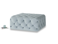 Oops-a-Lazy in Scandi blue clever cotton