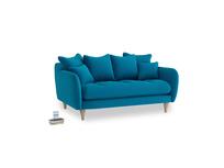 Small Skinny Minny Sofa in Bermuda Brushed Cotton