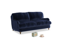 Small Jonesy Sofa in Goodnight blue Clever Deep Velvet