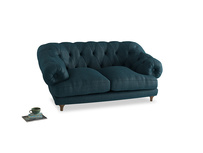 Small Bagsie Sofa in Harbour Blue Vintage Linen