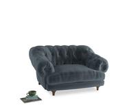 Bagsie Love Seat in Odyssey Clever Deep Velvet