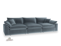 Large Cuddlemuffin Modular sofa in Odyssey Clever Deep Velvet