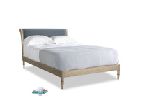 Double Darcy Bed in Odyssey Clever Deep Velvet