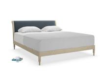 Superking Darcy Bed in Odyssey Clever Deep Velvet