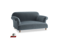 Small Soufflé Sofa in Odyssey Clever Deep Velvet