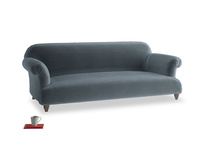 Large Soufflé Sofa in Odyssey Clever Deep Velvet