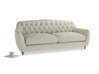 Large Butterbump Sofa in Stone Vintage Linen