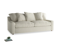 Large Cloud Sofa in Stone Vintage Linen