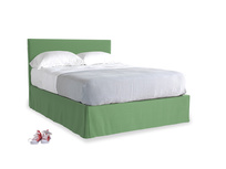 Clean Green Brushed Cotton Space With Piper