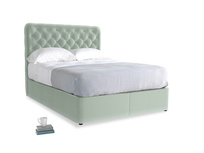 Mint Clever Velvet Store With Billow