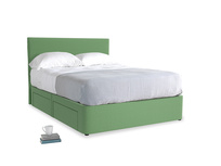 Clean Green Brushed Cotton Tight Space With Piper