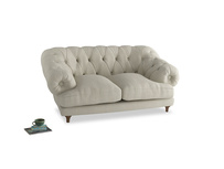 Small Bagsie Sofa in Stone Vintage Linen