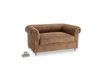 Small Humblebum Sofa in Walnut beaten leather