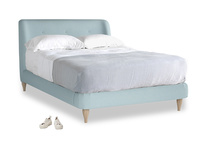 Double Puffball Bed in Powder Blue Clever Softie