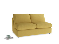Chatnap Sofa Bed in Easy Yellow Clever Woolly Fabric