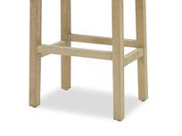 Tall Bumpkin bar stool leg detail