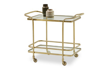 Little Soak vintage style drinks trolley