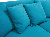 Crumpet sofa - cushion detail