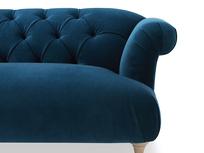 Dixie elegant sofa front detail