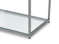 Tall Wolfie glass shelf