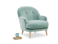 Sweetspot buttoned occasional chair