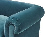 Humblebum roll arm upholstered sofa