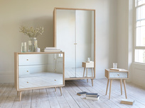 Trixie mirrored bedroom furniture