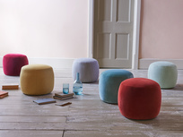 Little Cheese upholstered footstool range
