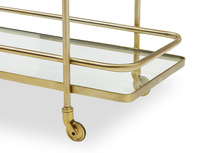 Big Soak drinks trolley shelf detail