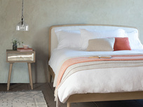 Smoothie elegant french style bed