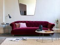 Dixie elegant button back sofa