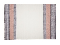 Large Siesta rug in Dusty Pink