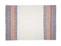 Medium Siesta rug in Dusty Pink