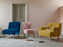 Upholsterd luxury occasional chairs