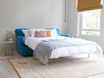 Pudding contemporary sofa bed open