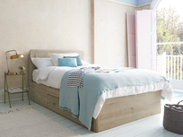 Woody wooden storage bed