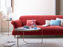 Souffle elegant feather free sofa
