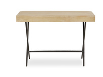 Jotter slim line wooden desk back