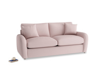 Medium Easy Squeeze Sofa Bed in Potter's pink Clever Linen