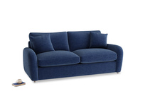 Medium Easy Squeeze Sofa Bed in Ink Blue wool