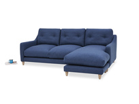 Slim Jim Chaise Sofa angled