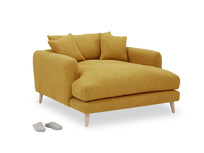 Squishmeister Love Seat Chaise angled
