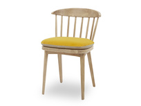 Soft Serve Seat Pad Drummer Chair Yellow Velvet