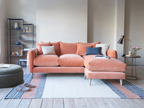 Squishmeister deep chaise sofa