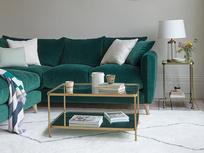 Squishmeister comfy deep corner sofa