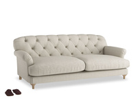 Large Truffle Sofa in Thatch house fabric