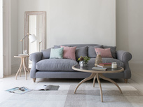 Sloucher contemporary sofa