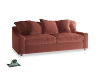 Large Cloud Sofa in Dusty Cinnamon Clever Velvet